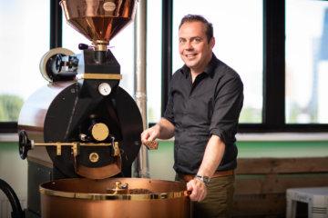 BINK36 werkruimte van koffiebrander TroPa Café