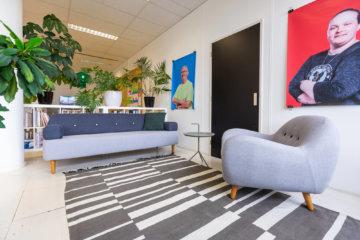 Het kantoor van Gusmanson in BINK36