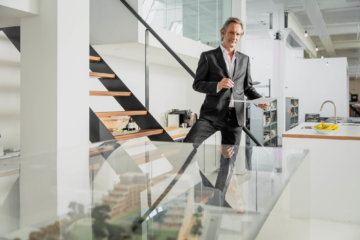 Willem-Joost de Vries van architectenbureau TconcepT